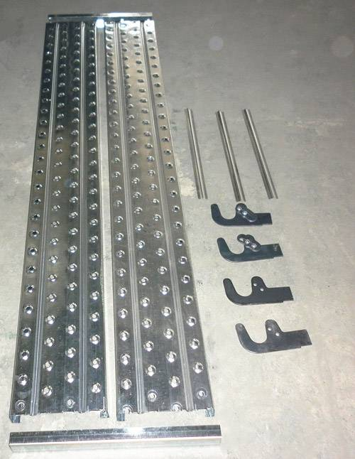 Scaffolding perforated plank grating/Perforated steel plank