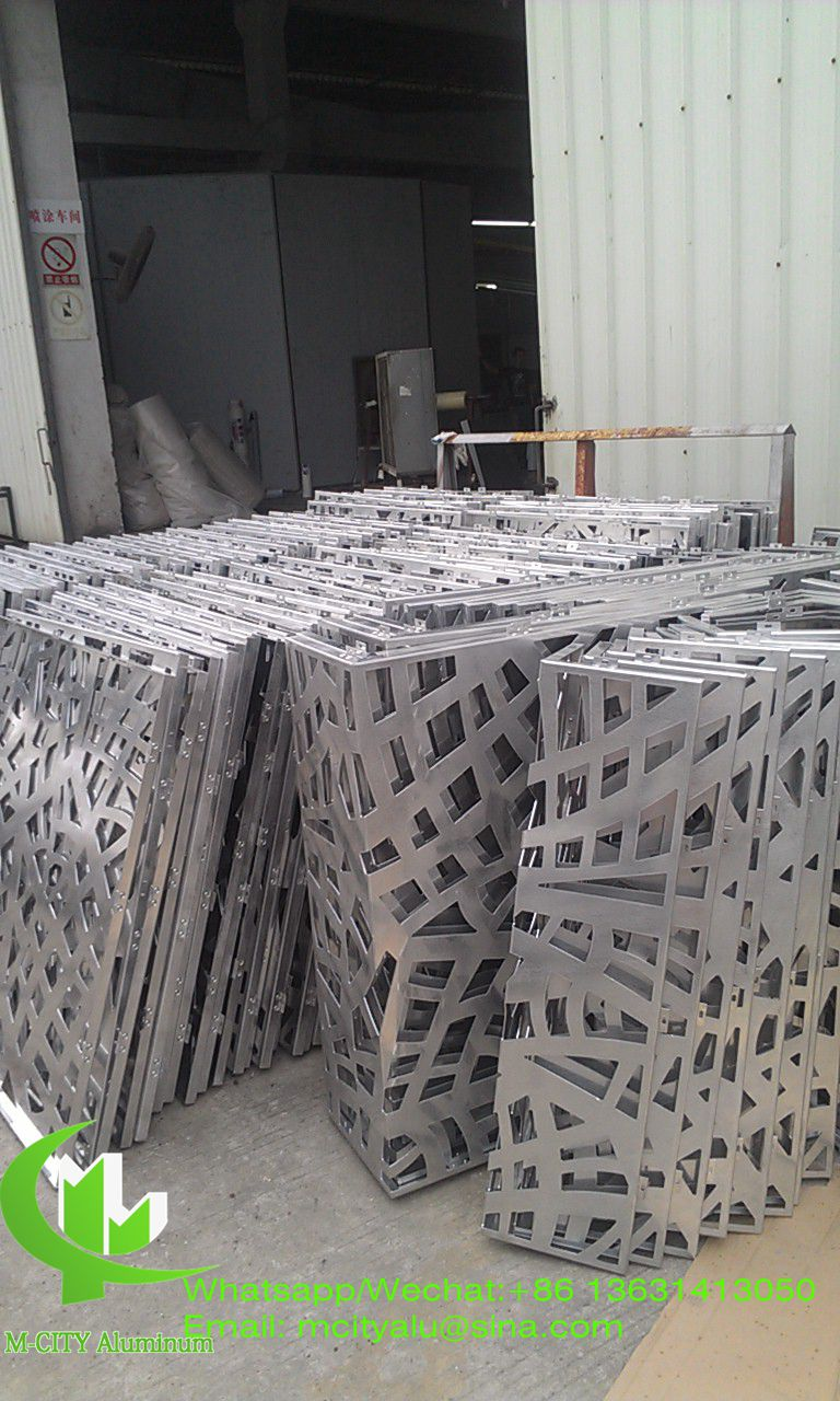 aluminium carved wall panel for curtain wall