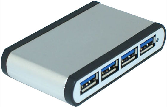 USB 3.0 Hub Compatible with USB3.0/USB2.0/1.0