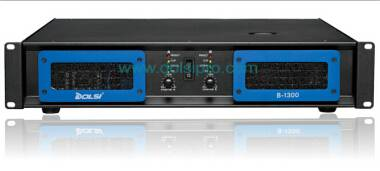 Double Channel 2U 350W to 1600W at 8 Ohms Professional Power Amplifier B Series