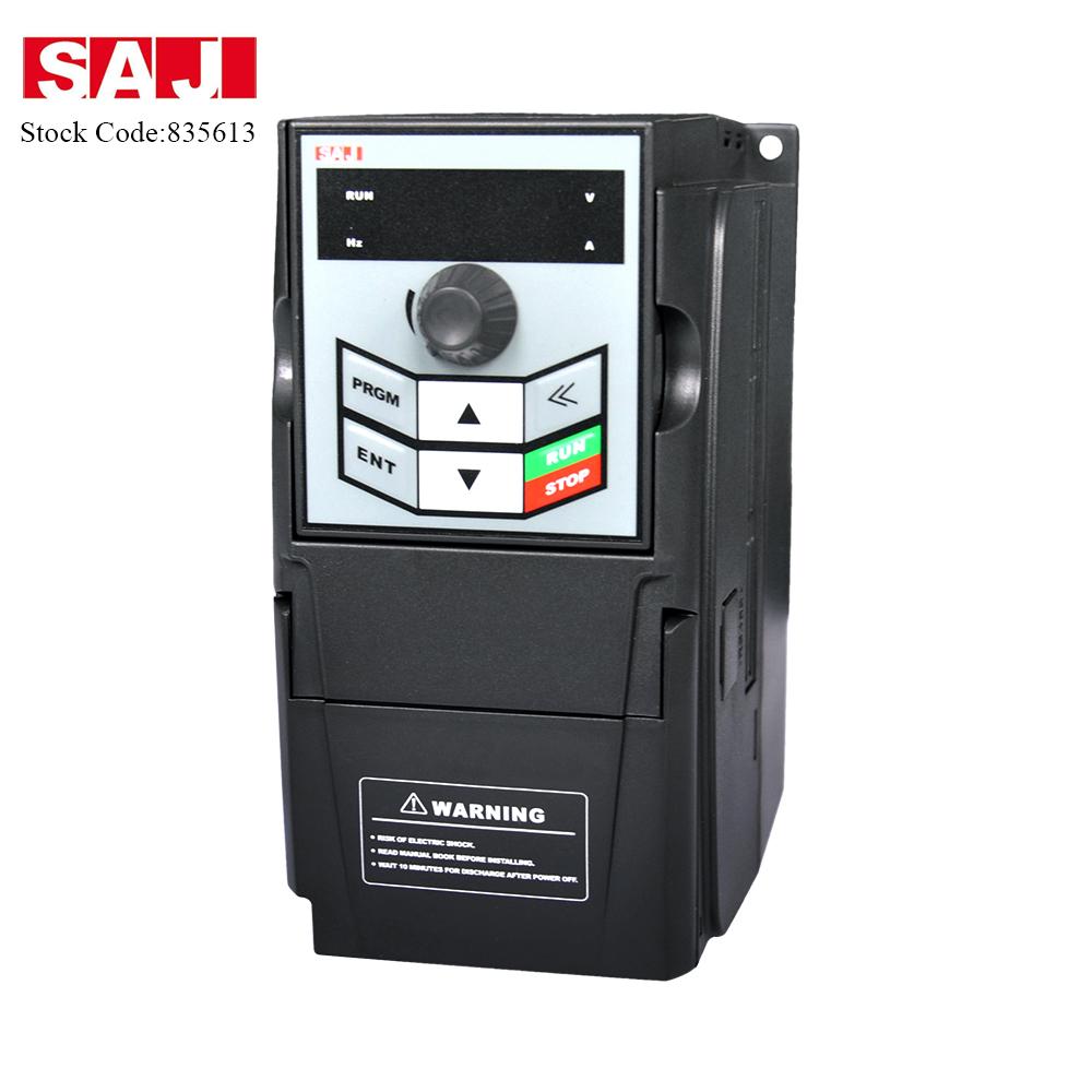 SAJ Top Brand General Use VFD 0.75-2.2kW Pure Sine Wave Inverter