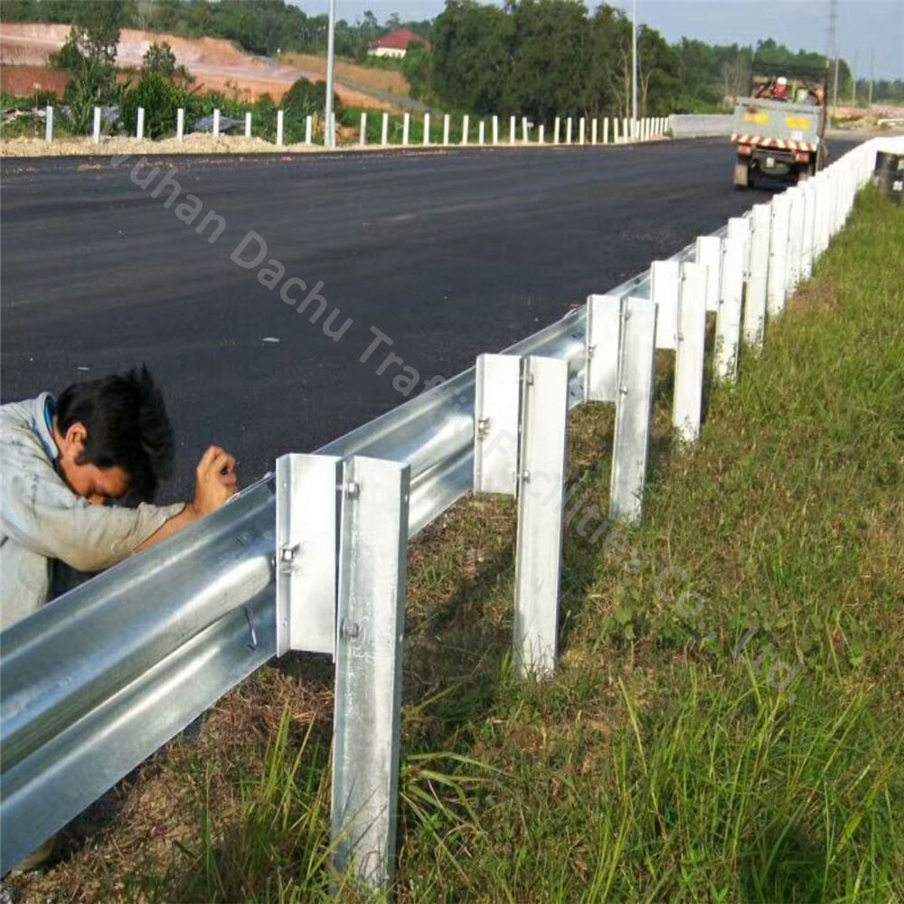 Galvanized W-beam Guardrail--AASHTO M180