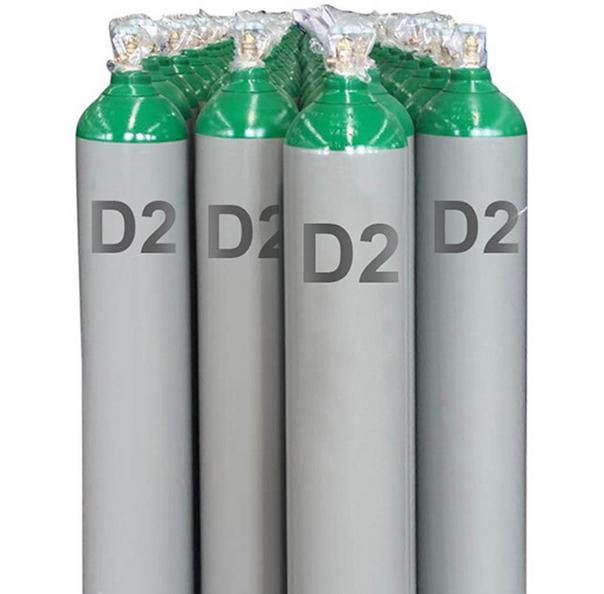 Rare Gases D2 Deuterium Gases Cylinder CAS No. 7782-39-0