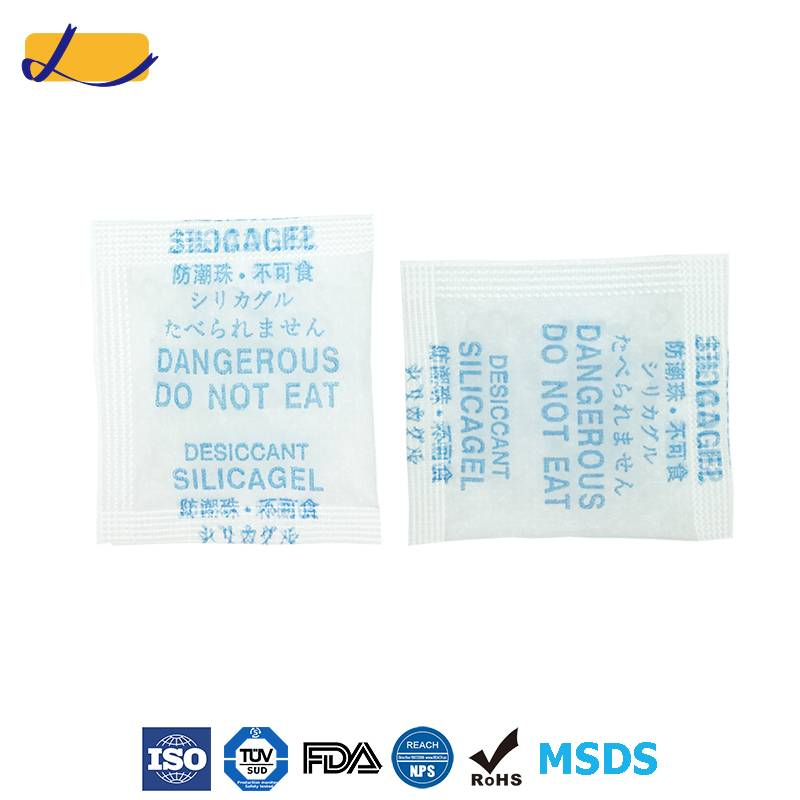 DMF free silica gel desiccant manufacturer from China