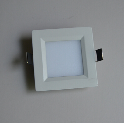 1.9USD 3W 8585mm Square Anti-Glare Warm White LED Panel Light