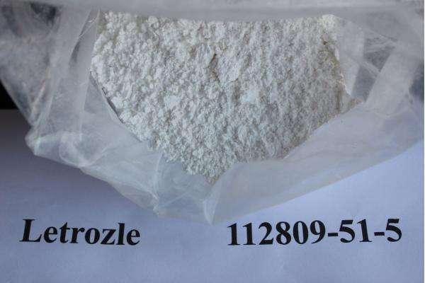 99.9% Purity Anabolic Steroids Letrozole Anti-Estrogen Powder Letrozole Femara CAS 112809-51-5
