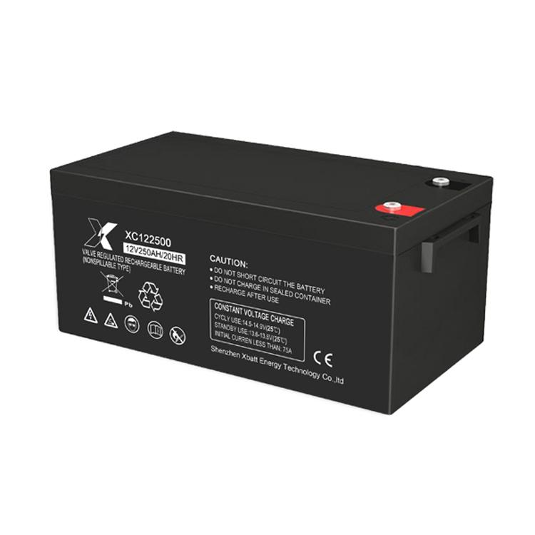 Xbatt 12V250AH lead acid battery for solar system