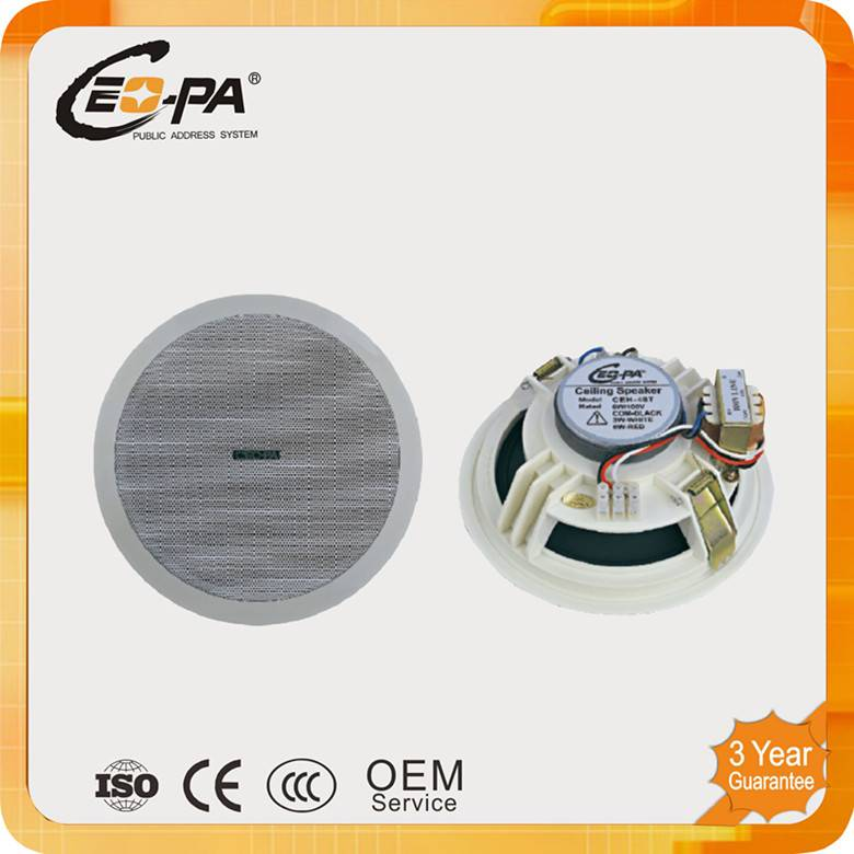 5 Inch PA System Ceiling Speaker