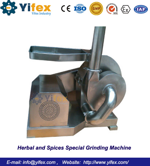 Herbal and Spices Special Grinding Machine
