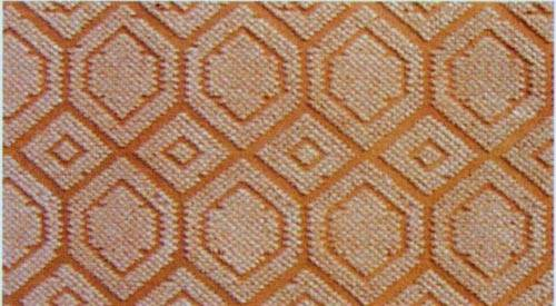 100% polyester nonwoven needle punched double jacquard carpet