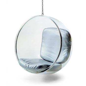Modern replica furniture clear Acrylic Hanging Bubble Chair outdoor furniture