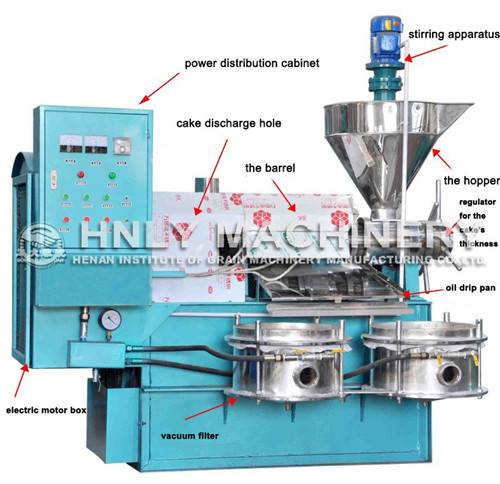 factory direct supply soybean oil press machine