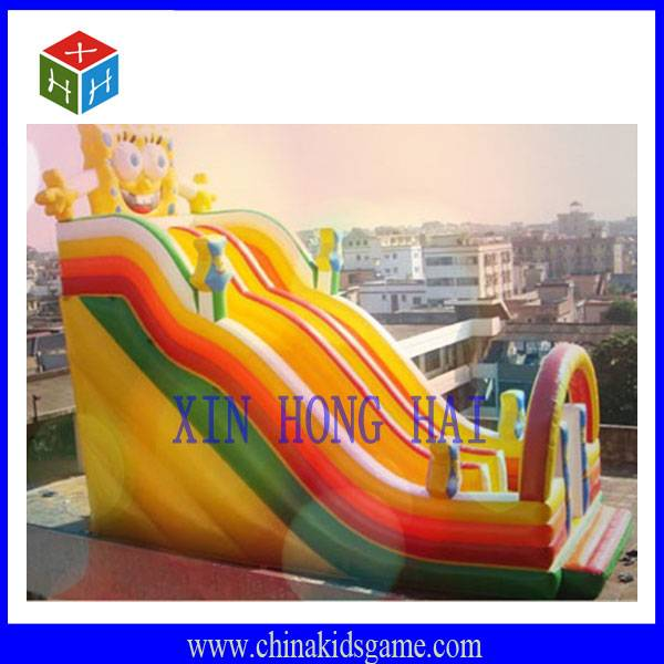 KI-XHH2032 High quality outdoor funny sunshine inflatable jump slide