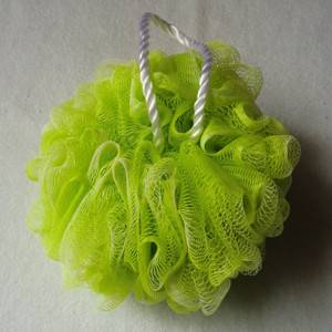 OEM colorful shower ball