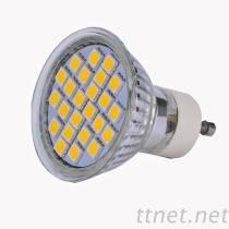 4W Base SMD5050 15/18/21/24pcs Glass LED COB Spot Lamp