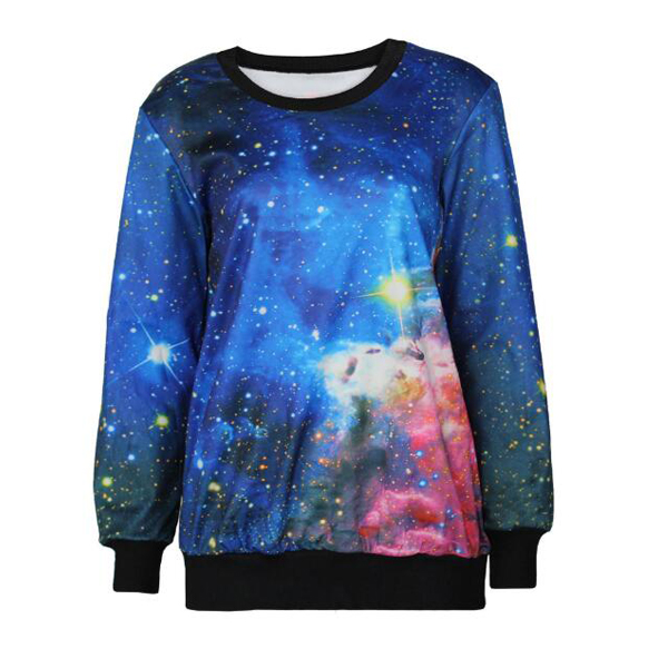 Custom men 3d printed crewneck sweatshirt wholesale women sublimation