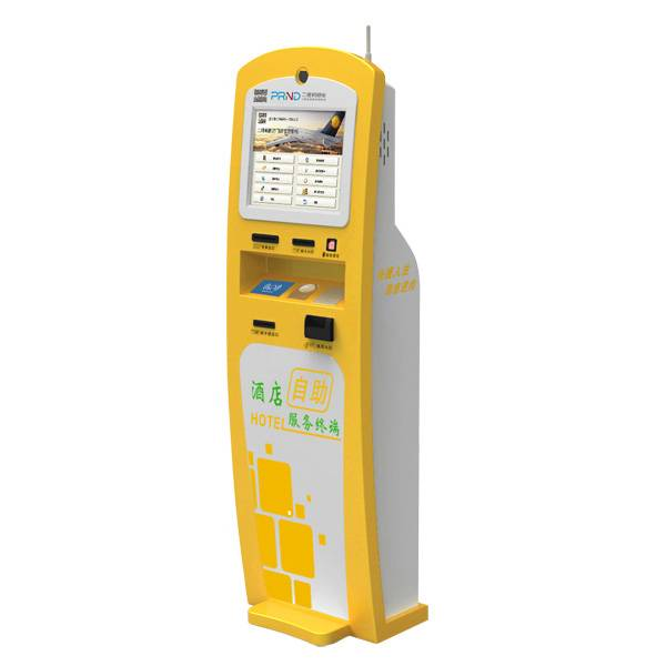Hotel Self Check-in Kiosks Combine with the QR Lock-the Guests Can Check in by Themselves
