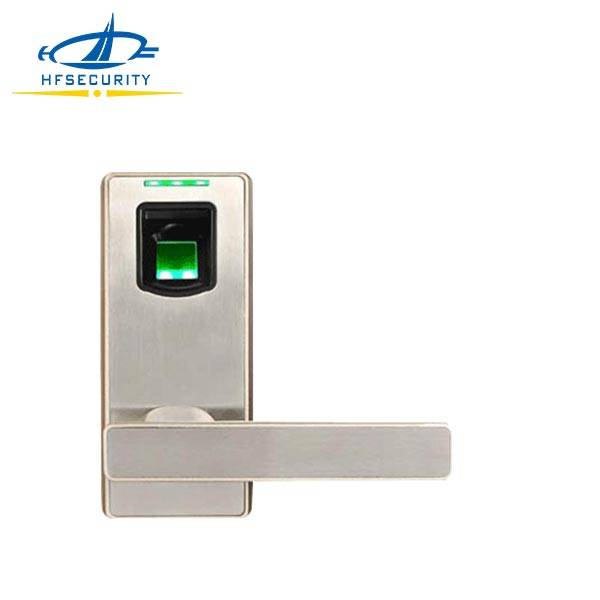 HF-LA100 Reversible Lever Handle Security Door Fingerprint Latch Lock