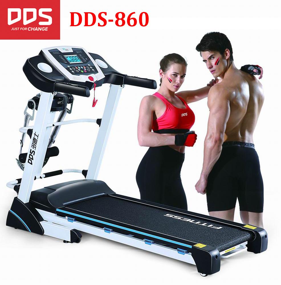 DDS 860 cheap 2018 home treadmill , indoor running machine treadmill, auto incline treadmill