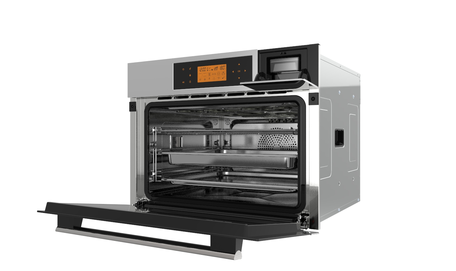 58L single water tank built-in electric steam oven