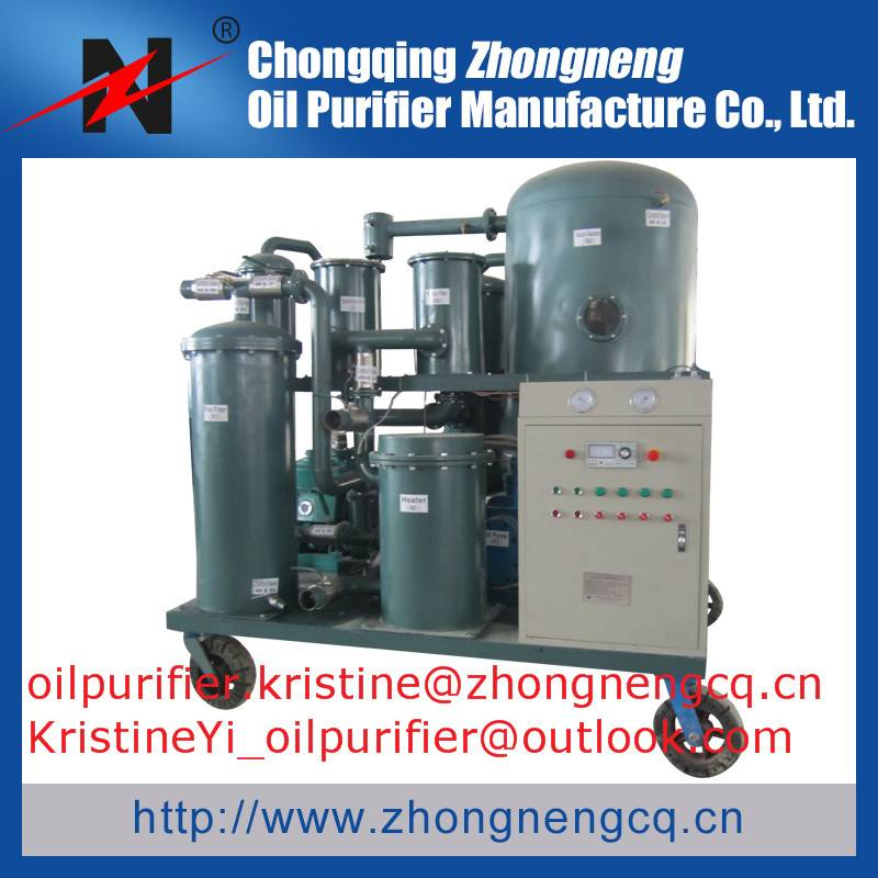 Vacuum Lubricating Oil Purifier  Series TYA