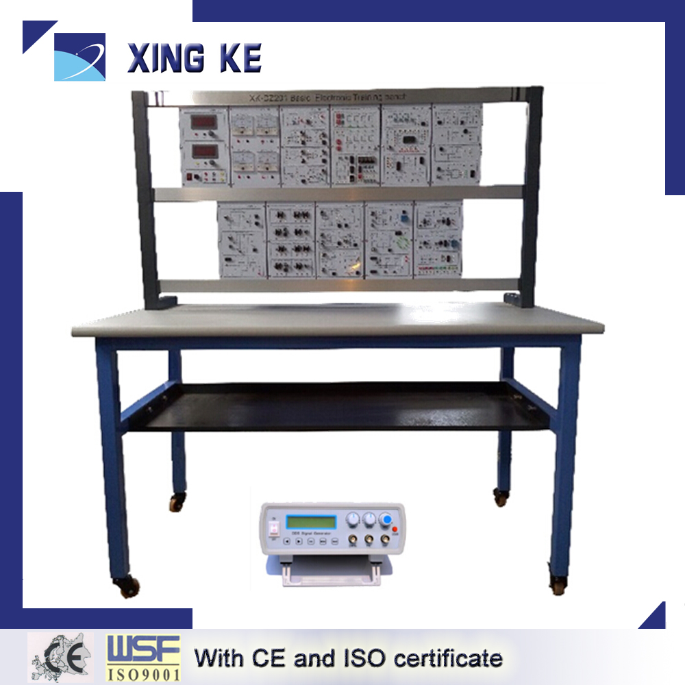 Basic electrical/electronic circuit training equipment XK-DZ201