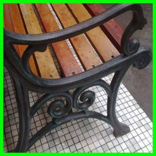 cast iron bench legs