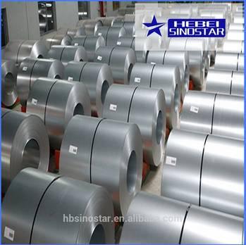 Hot Dipped aluzinc coated building metal sheet coils