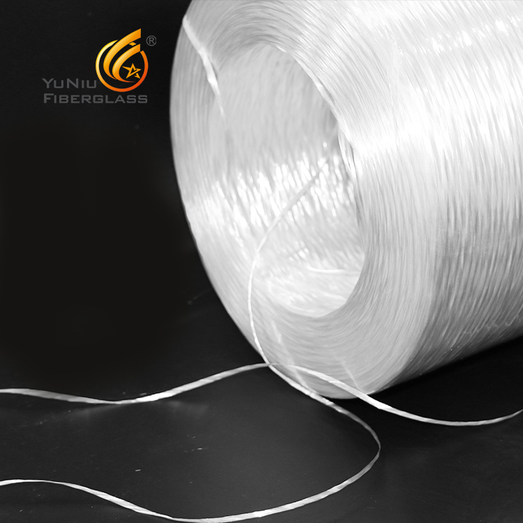Yuniu brand E-glass insulation Fiberglass Direct roving for Pultrusion