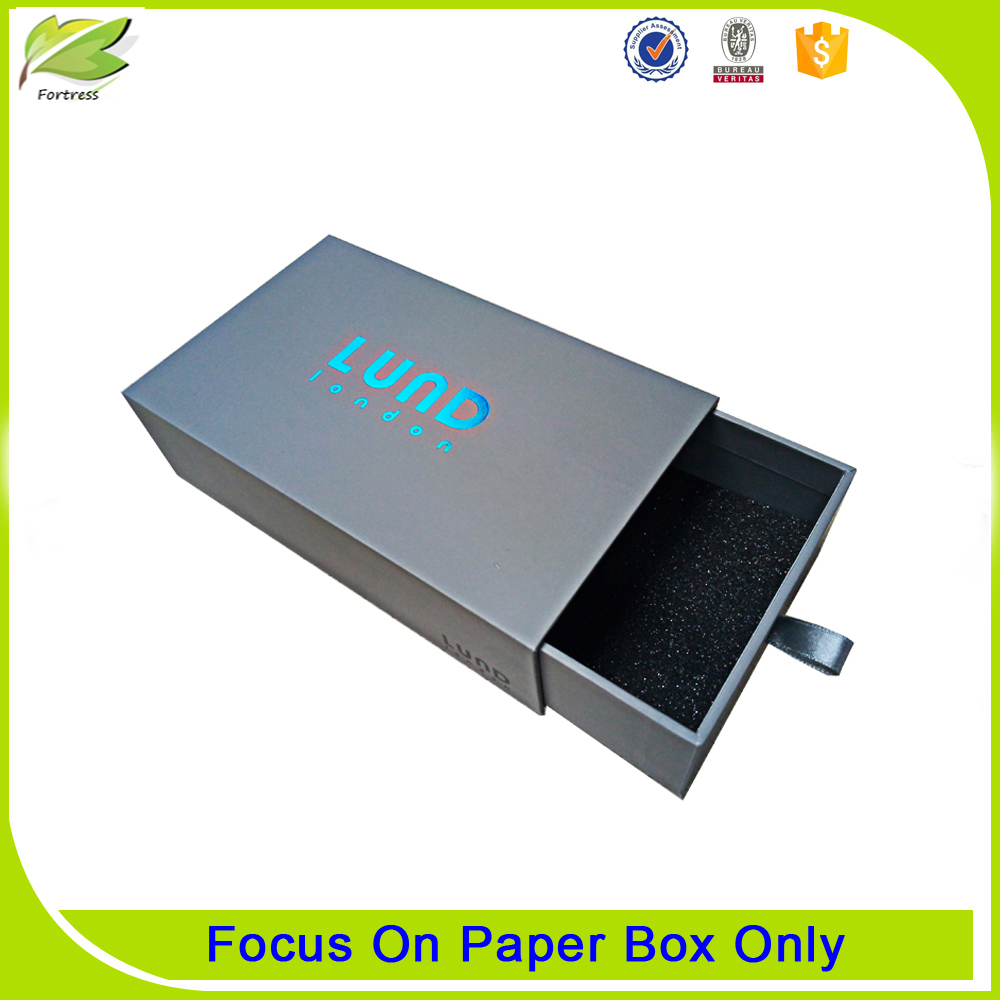 custom drawer cardboard box packaging
