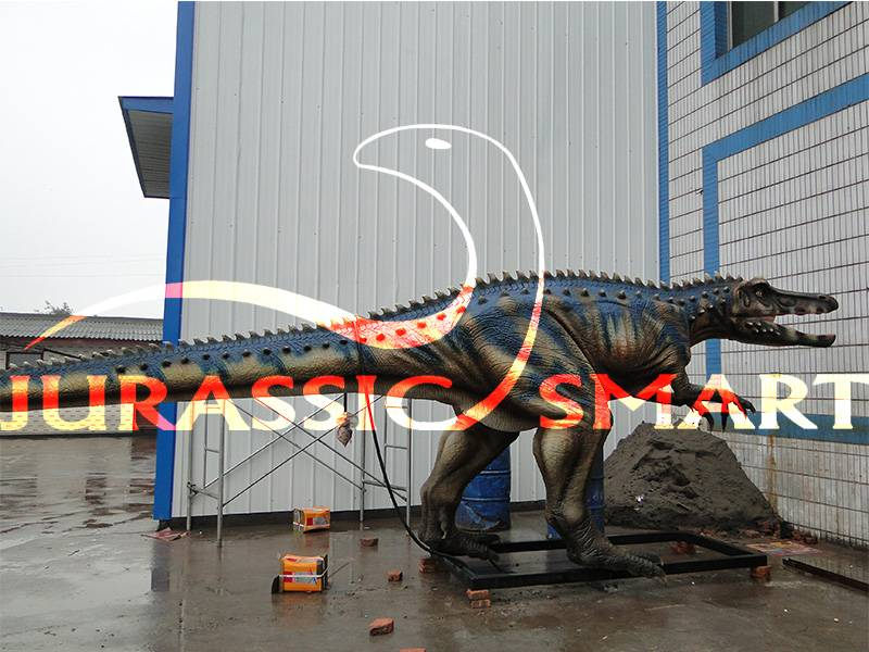amusement park simulation dinosaur