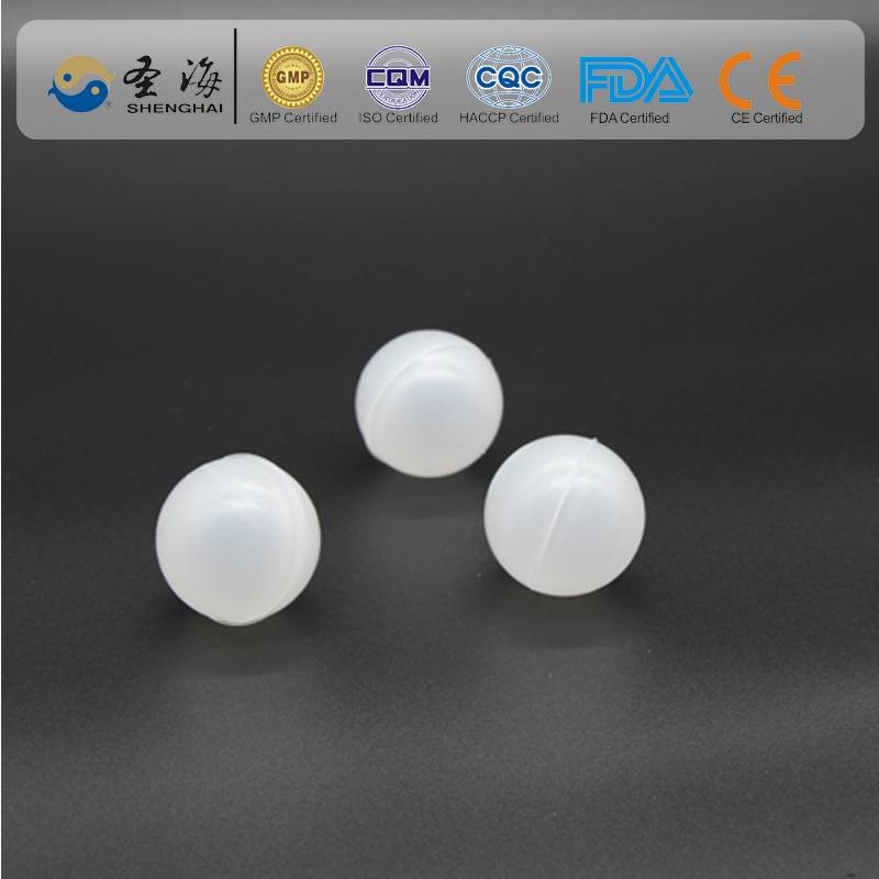 China factory supply 38mm hollow plastic balls for Ammonia reduction