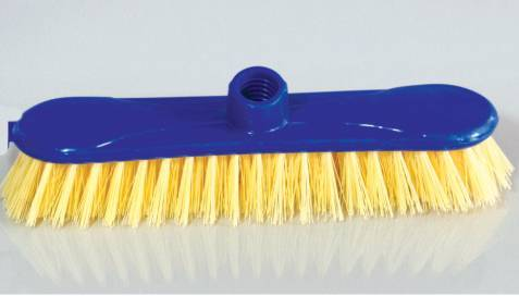 HQ0005 household upright firm cleaning floor brush W/ PVC coated wooden handle set