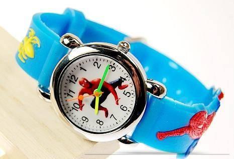 2010 newest. Spiderman series watch, lovely cartoon watch
