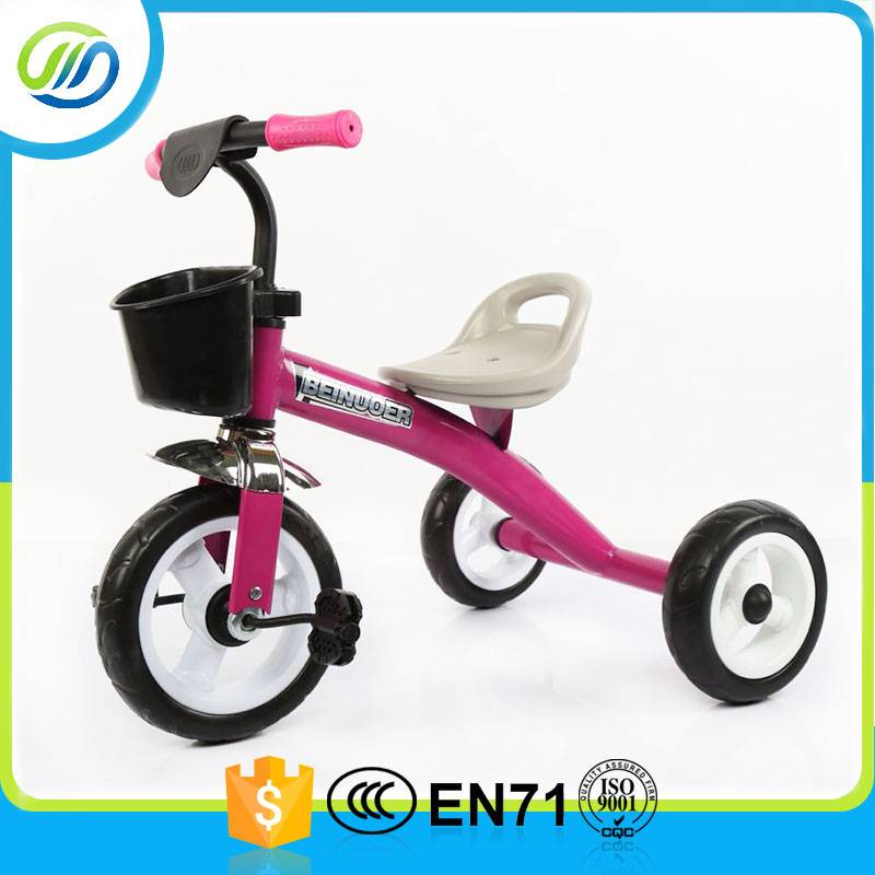 New metal material baby tricycle