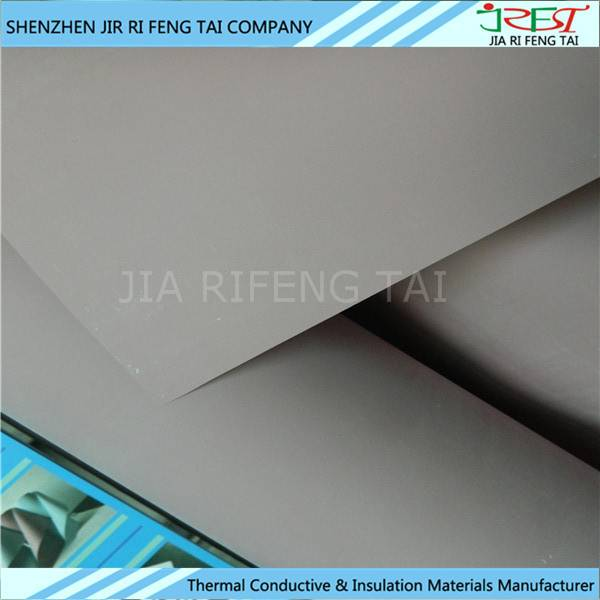 High dielectric strength good thermal conductivity silicone cloth