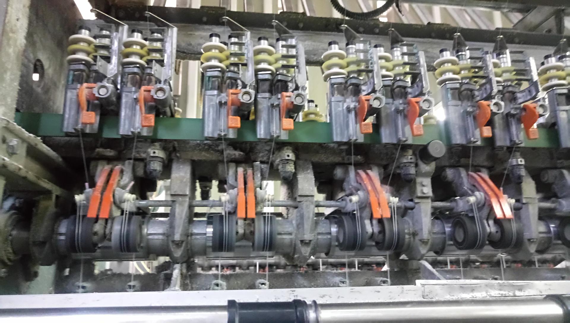 Rieter scrag Texture machines