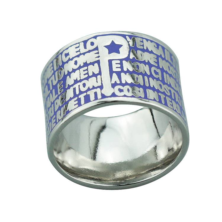 2015 Manli Fashion European and American Female temperament sweet Bible Ring