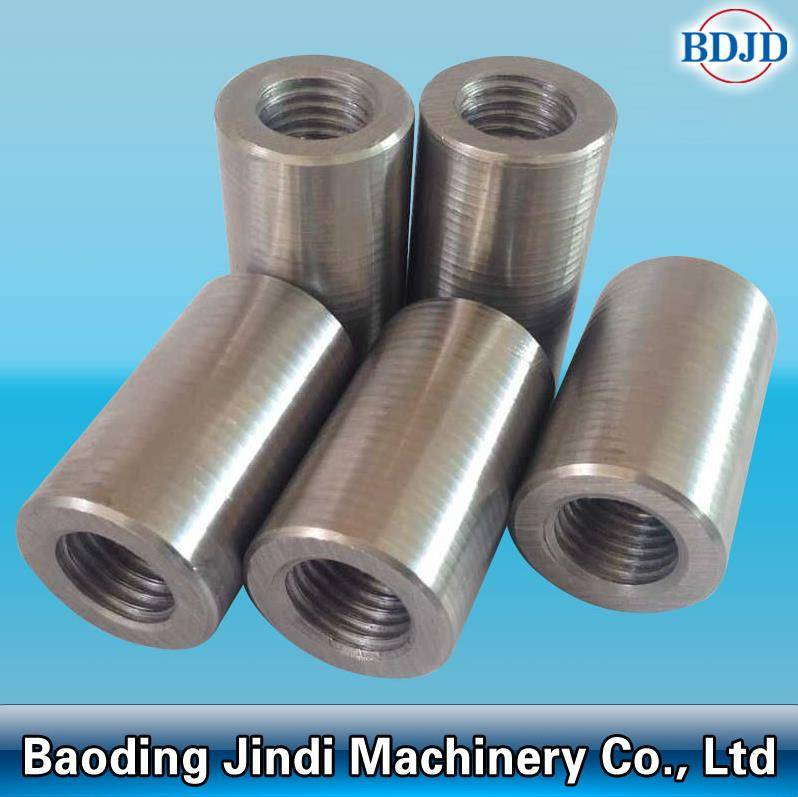 metal building tools 45# steel rebar coupler parallel thread rebar coupler D12-50