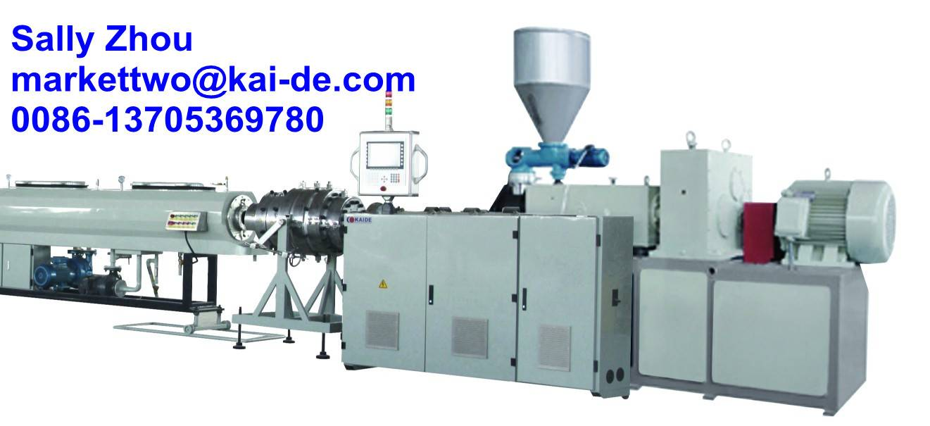 Water Drainage UPVC pipe machine