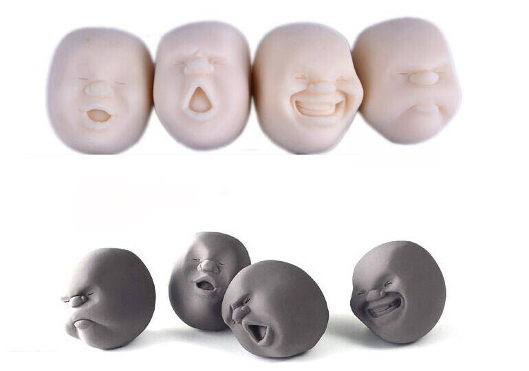 Mini soft plastic new design anti-Stress Soft Emoticon cute toy