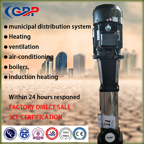G-CDL/CDLF Multistage Centrifugal Vertical Pump 4-13