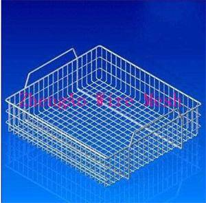 supply Medical equipment cleaning basket, parts clean basket, stainless steel cleaning baskets