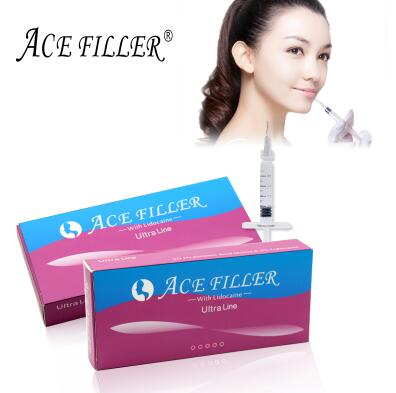 sharpening chin Ultra line ACE 1ml sodium hyaluronate acid ha dermal filler gel