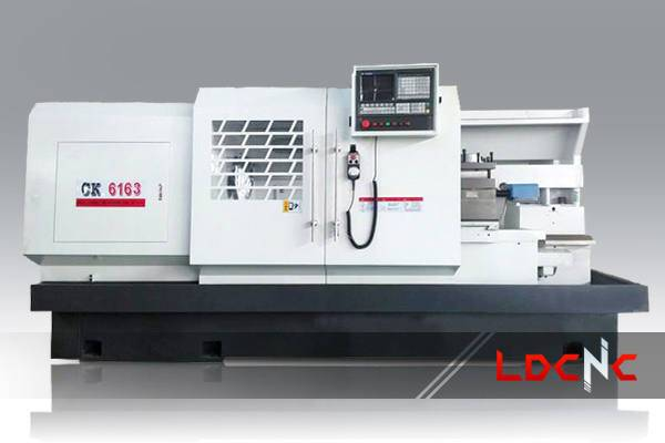 CK6163 light duty CNC lathe machine, Swing diameter over carriage 340mm