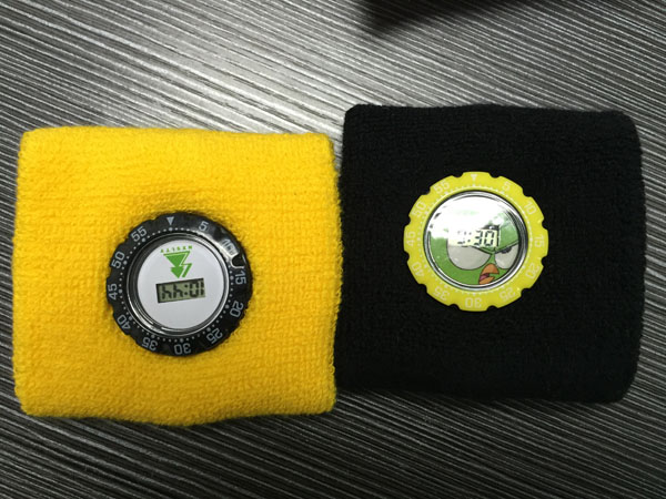 Custom logo sweatband watch