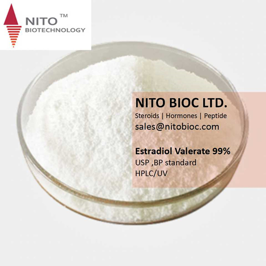 Hot Sell Strong Steroid Powder: Estradiol Valerate with CAS NO:979-31-8