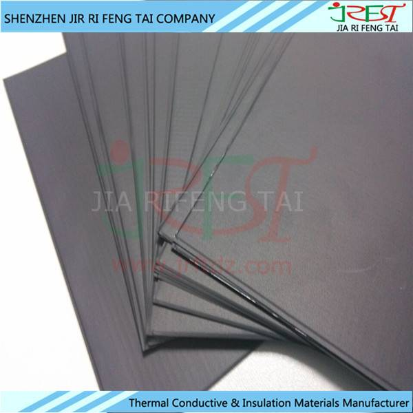 0.2mmx125mmx125mm Flexible Soft NFC Ferrite Sheet For Phone Anti-interence Material