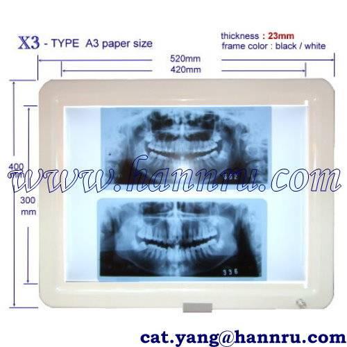 Viewing-box X - 3 System, panoramic film - Hann Ru