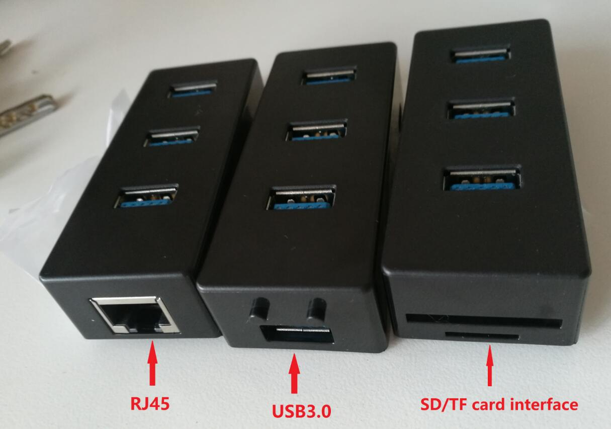 USB hub,SD/TF card interface,USB3.0 HUB